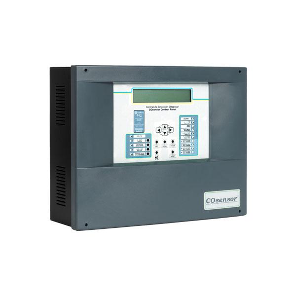 COFEM-41 | Central direccionable COsensor ZafirCO de detección de monóxido de carbono de 4 zonas y 25 detectores de CO + 25 detectores NO2 por zona
