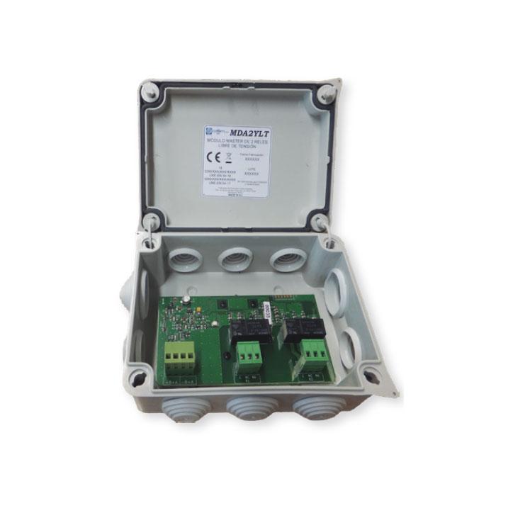 COFEM-54 | Módulo analógico microprocesado y direccionable de 2 salidas de relés de contacto seco