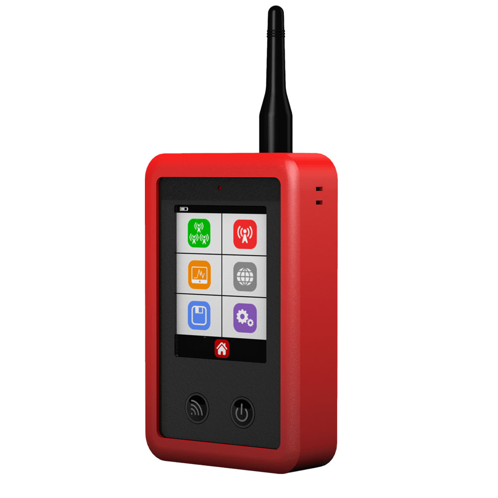 CSL-3 | Signal analyzer for 2.4GHz, 2G, 3G, 4G, GSM WiFi networks