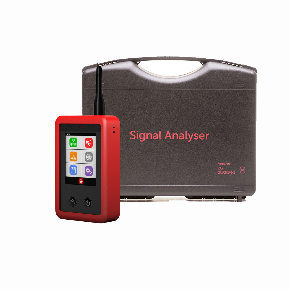 CSL-4 | Signal analyzer for 2.4GHz, 2G, 3G, 4G, GSM WiFi networks