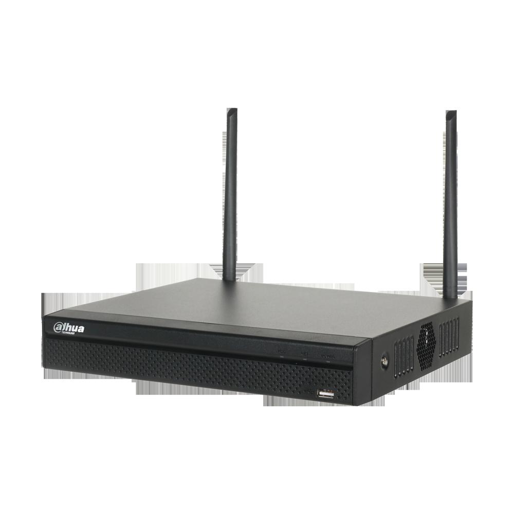 DAHUA-1665-FO | NVR IP WiFi de 4 canales hasta 8MP