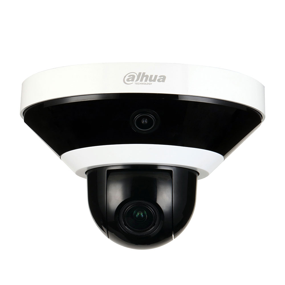 DAHUA-1843-FO   PTZ dome of  51°/sec., with fixed CMOS camera of 2 MP, IR of 15m for indoors