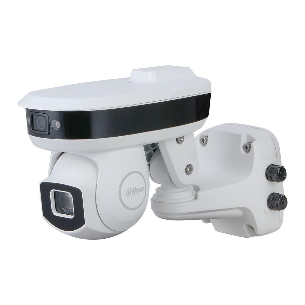 DAHUA-2016   Dahua STARLIGHT IP motorized dome of 335°/sec., With fixed 4 megapixel CMOS camera, 100m IR for outdoor use