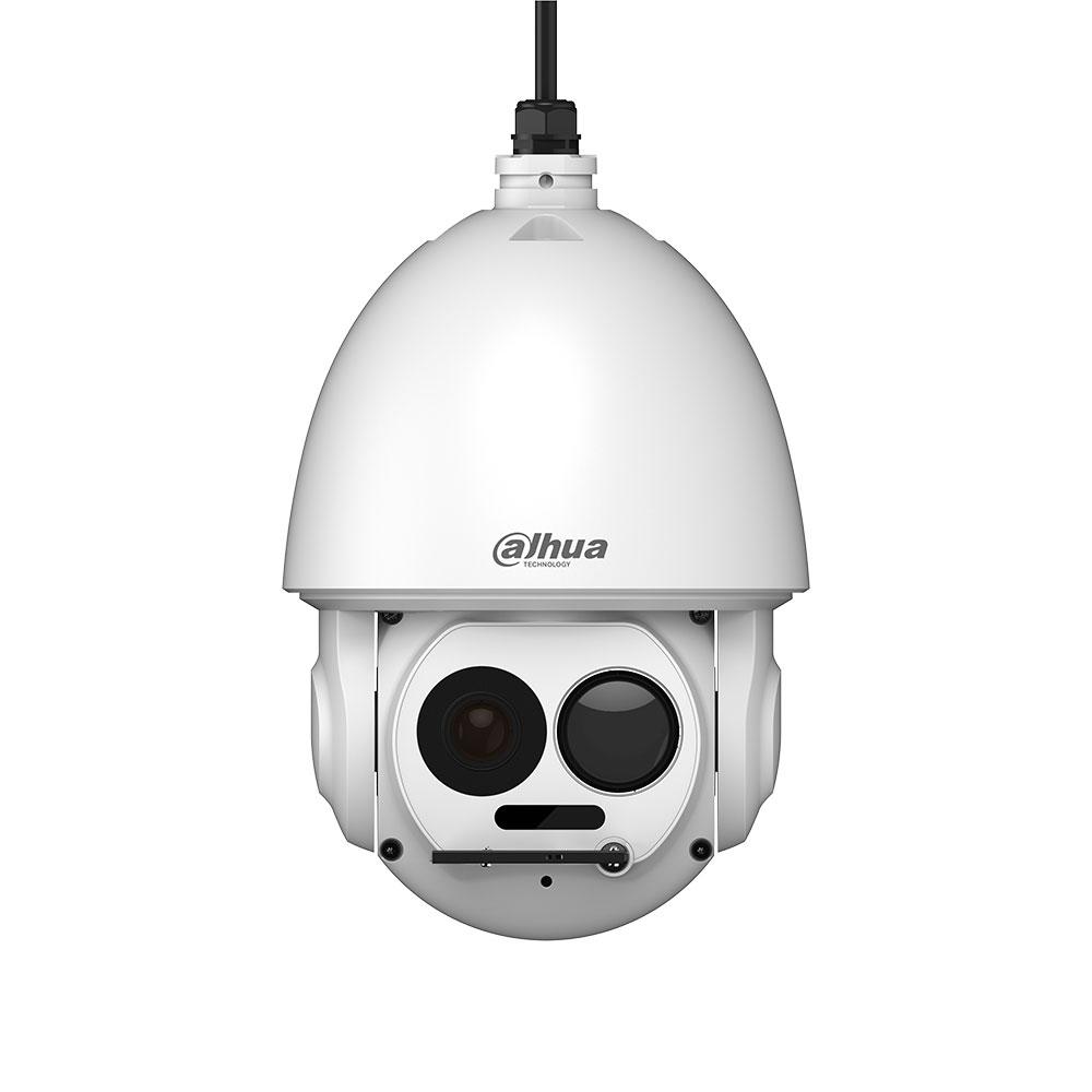 DAHUA-2142 | Domo motorizado térmico+visible Dahua de 200°/seg. con iluminación IR 100m para exterior