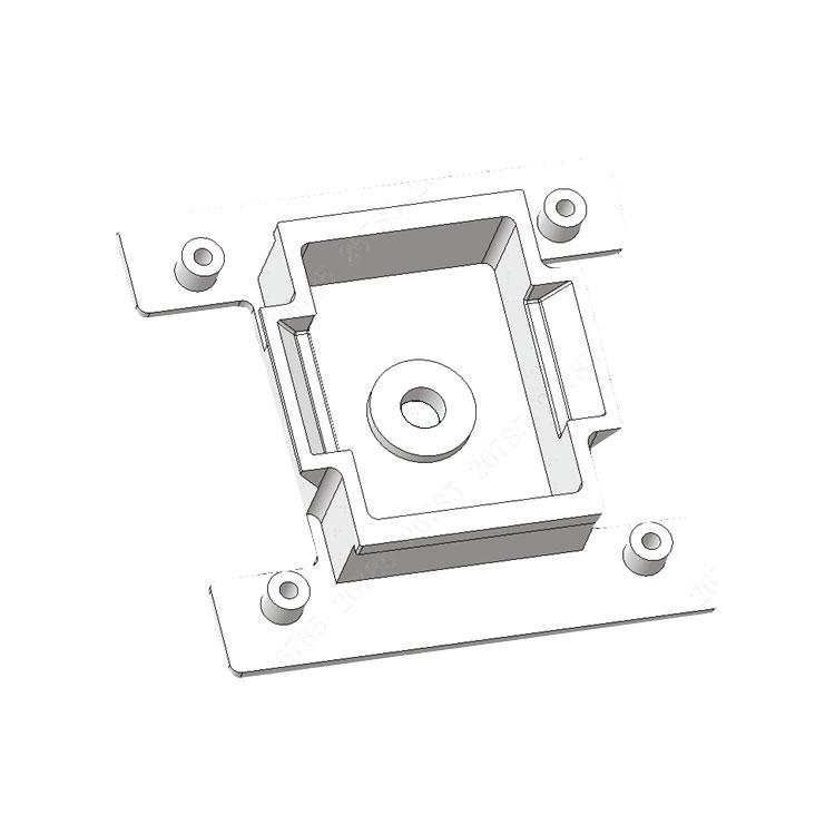 DAHUA-2184 | Adaptador Dahua para acoplar la cámara de Dahua Blackbody DAHUA-2182 (JQ-D70Z) y las cámaras de Dahua de detección de temperatura corporal DAHUA-2187 (TPC-BF5421P-TB13F8-HTM) y DAHUA-2181 (TPC-BF3221P-TB7F8-HTM) al trípode DAHUA-2183 (VCT-999)