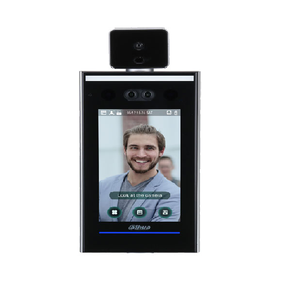 DAHUA-2191 | Dahua access control terminal with facial and body temperature detection