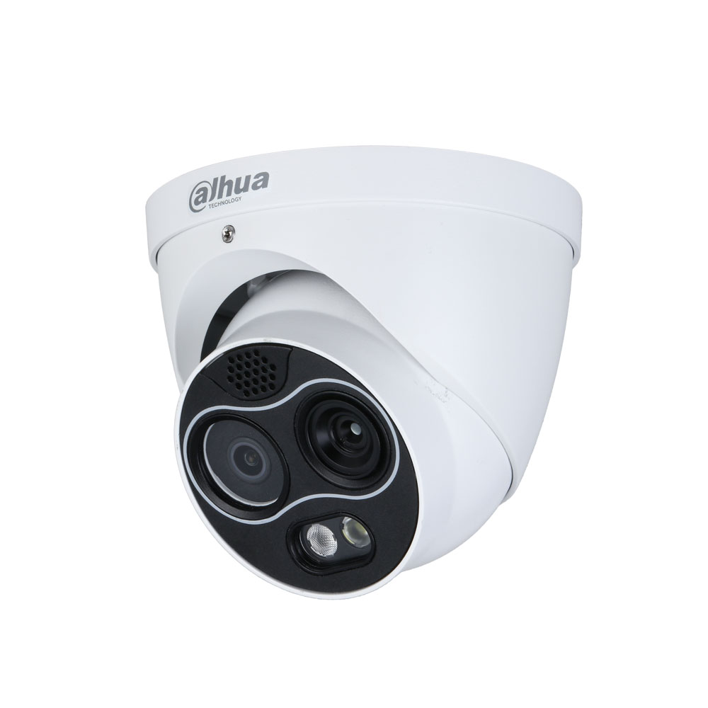 DAHUA-2205 | Thermal dome + visible with IR lighting of 30 m, for outdoors