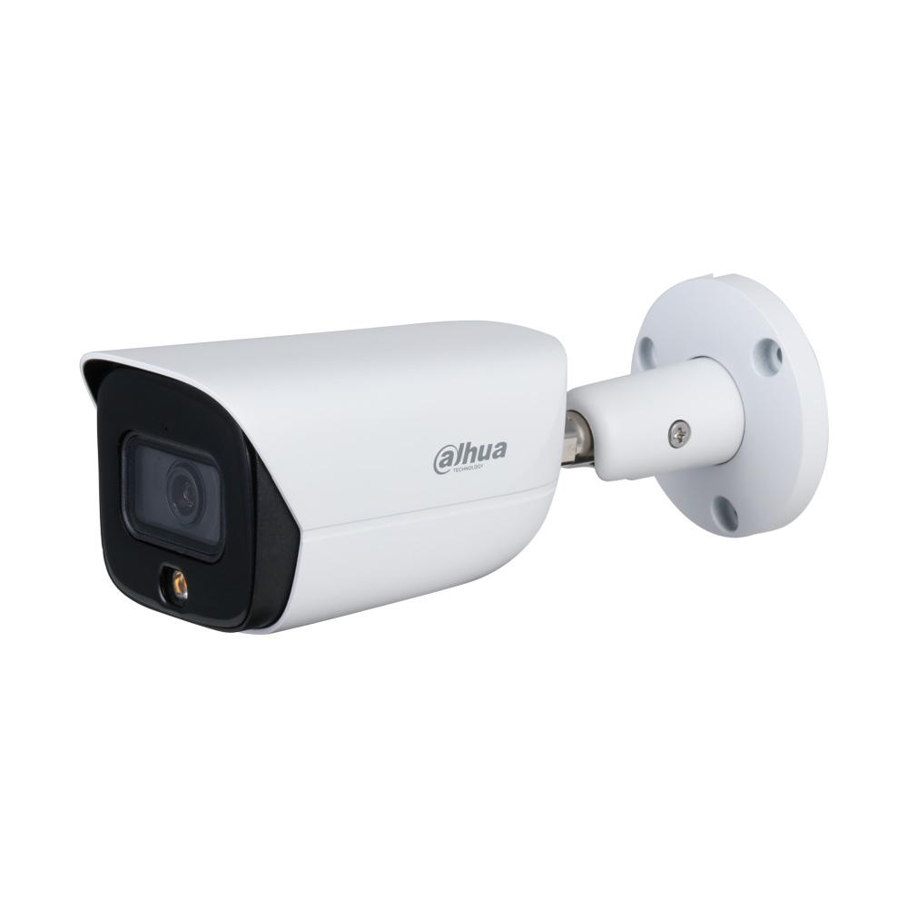 DAHUA-2218-FO | Cámara bullet IP Dahua StarLight Full Color con iluminación blanca de 30 m para exterior
