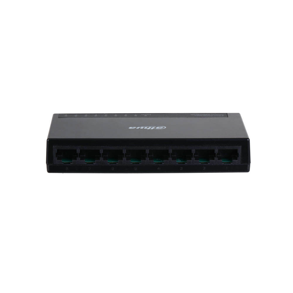DAHUA-2225 | Switch di livello commerciale L2 non gestibile con 8 porte Gigabit Ethernet