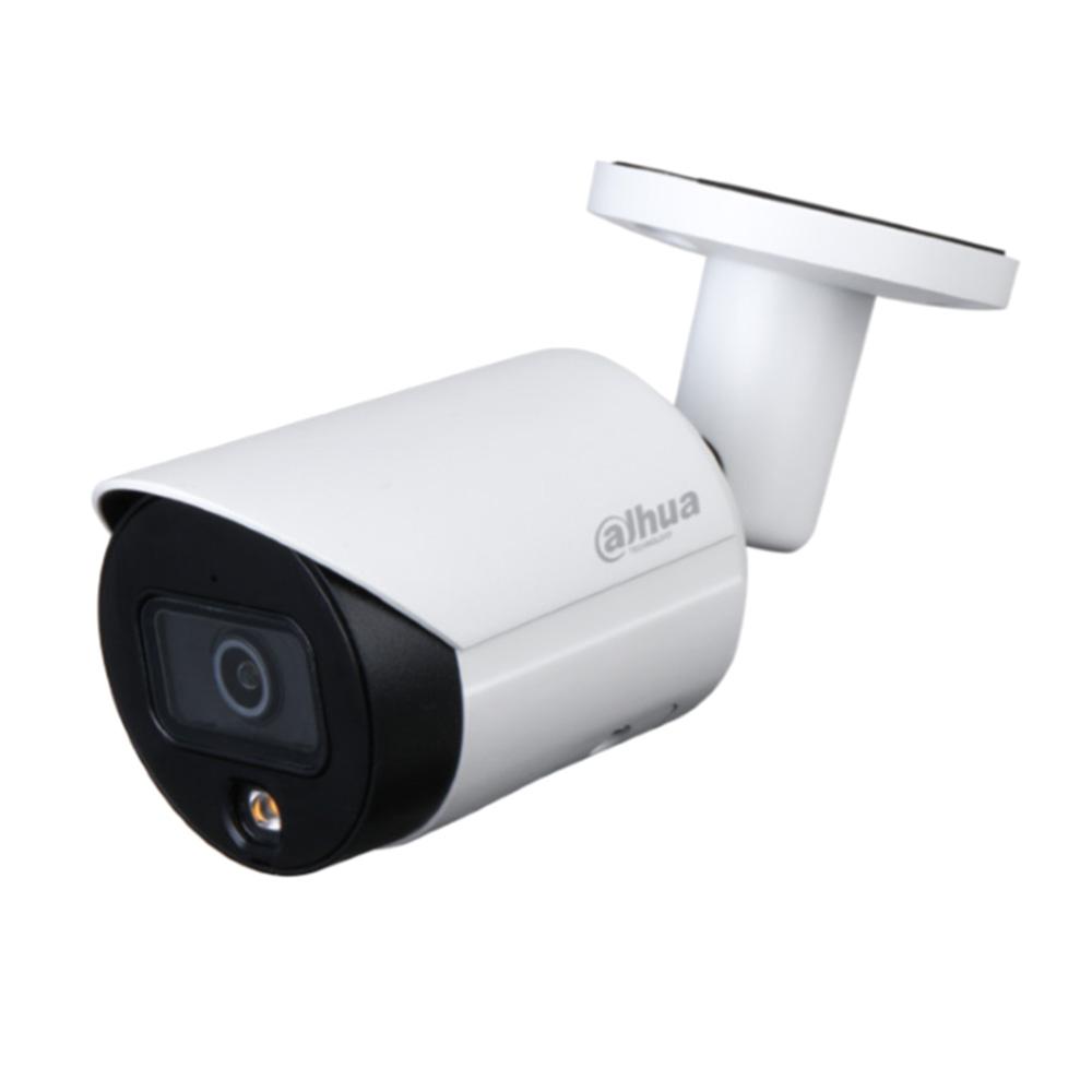 DAHUA-2239-FO | Cámara bullet IP Dahua StarLight Full Color con iluminación blanca de 30 m para exterior