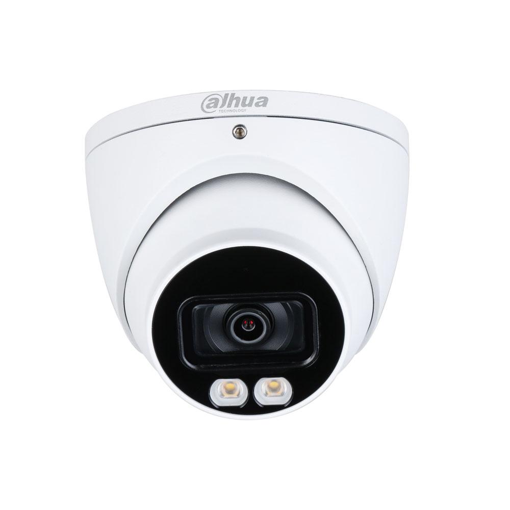 DAHUA-2308 | Domo fijo 4 en 1 Dahua Full Color StarLight con iluminación blanca 40 m para exterior
