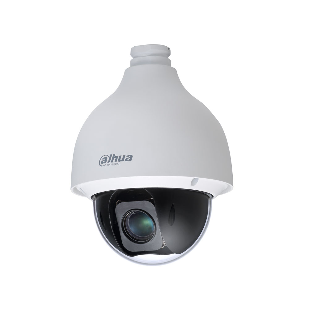 DAHUA-2313 | 4 in 1 motorized dome day / night 350 ° / sec., Vandal resistant for outdoor use