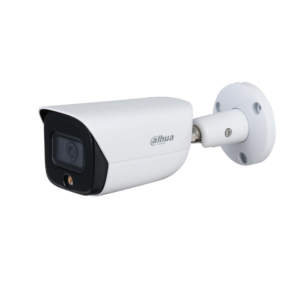 DAHUA-2615-FO | Cámara bullet IP Dahua StarLight Full Color con iluminación blanca de 30 m para exterior