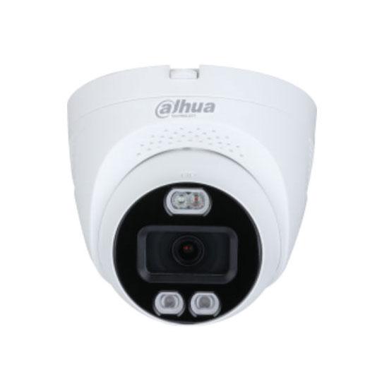 DAHUA-2712 | Domo fijo 4 en 1 Dahua Full-Color con disuasión activa iluminación blanca Smart de 40 m para exterior