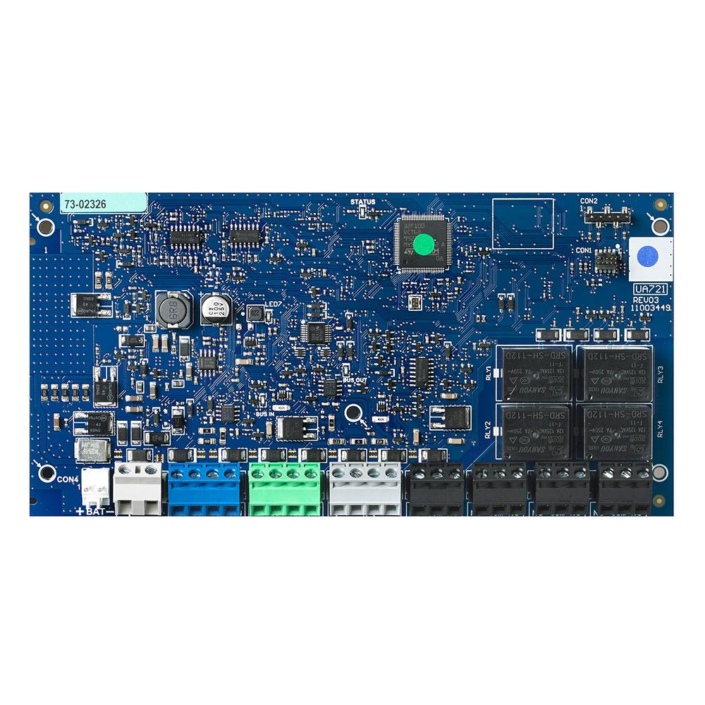 DSC-140 | Modulo amplificatore di Bus con 4 uscite di relé con fonte alimentazione 2 A per PowerSeries Pro