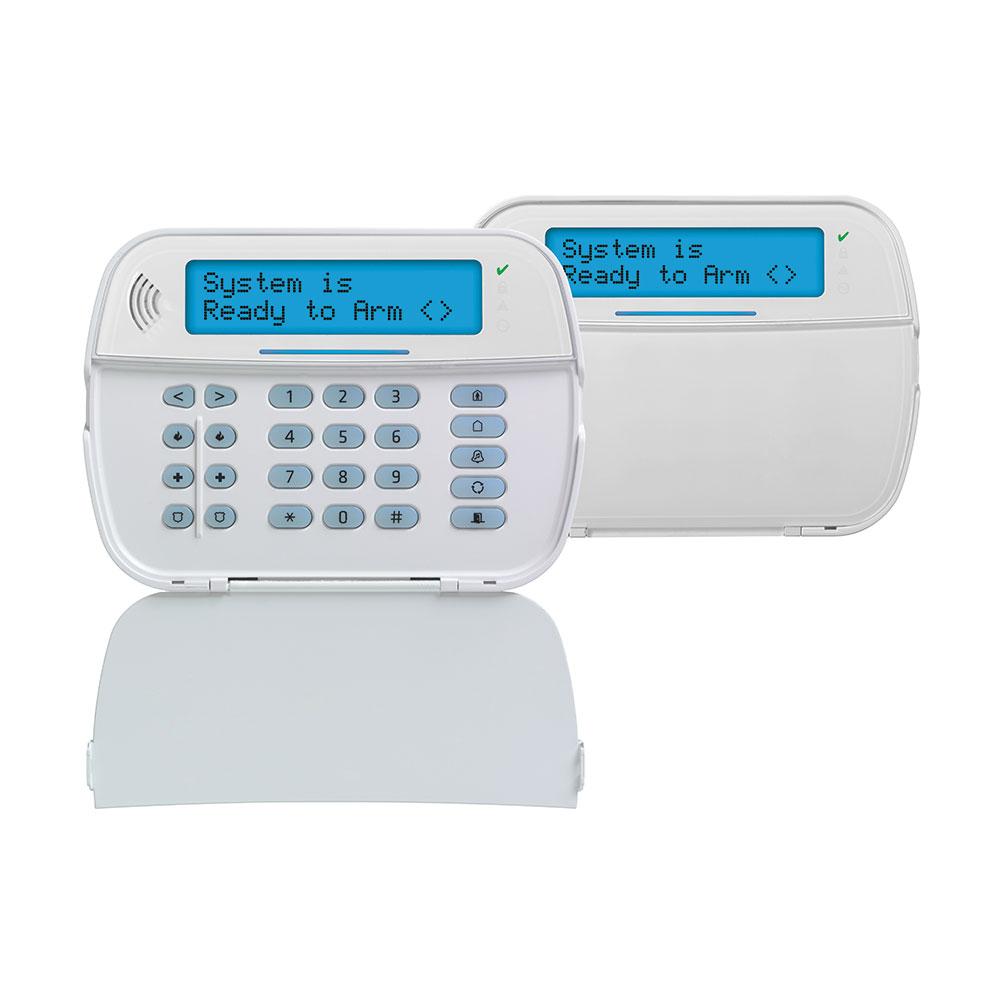 DSC-158 | Tastiera LCD alfanumerica via radio bidirezionale con lettore prossimità e vocale PowerSeries Pro
