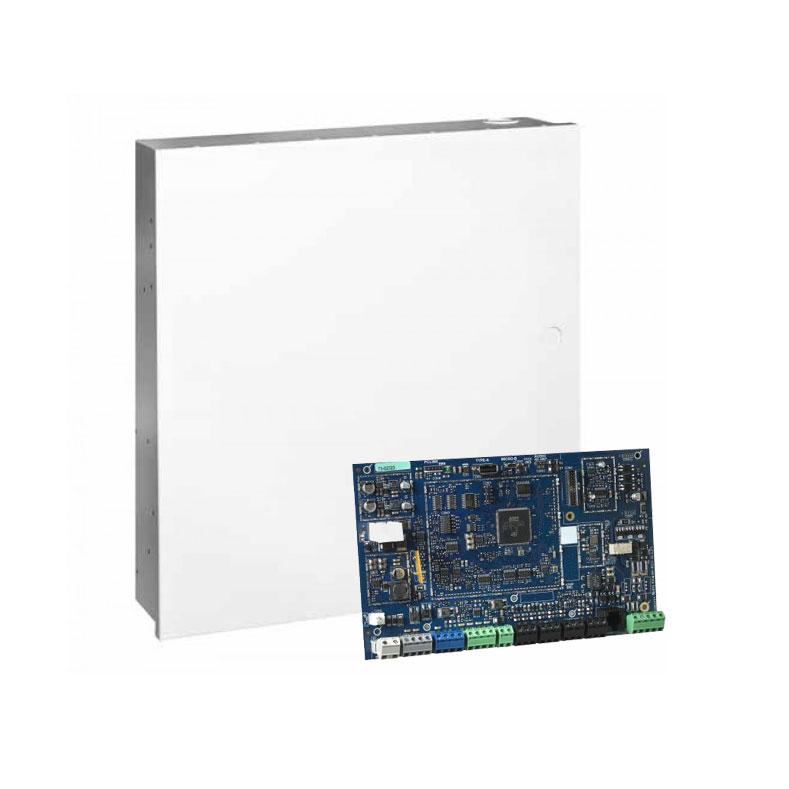 DSC-171 | Kit composto da: 1x Centrale DSC-137 (HS3128BASESP) Power Neo da 8 a 128 zone, 1x Scatola metallica DSC-131 (HSC3020C) con porta smontabile, 1x Fonte di alimentazione di 65W DSC-133 (HS65WPS).