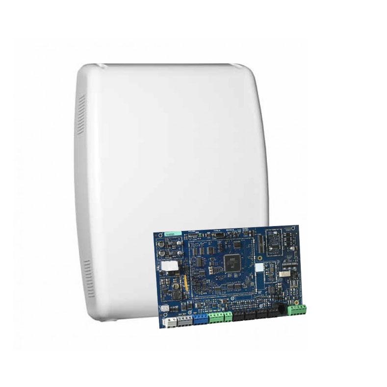 DSC-172 | Kit compoto da: 1x Central DSC-137 (HS3128BASESP) Power Neo da 8 a 128 zone, 1x Scatola di plastica DSC-132 (HSC3020CP), 1x Fonte di alimentazione 65W DSC-133 (HS65WPS).