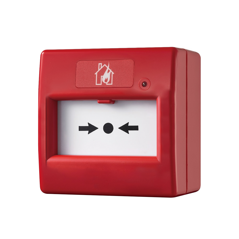 FOC-721 | Resettable Manual Call Point (red color)