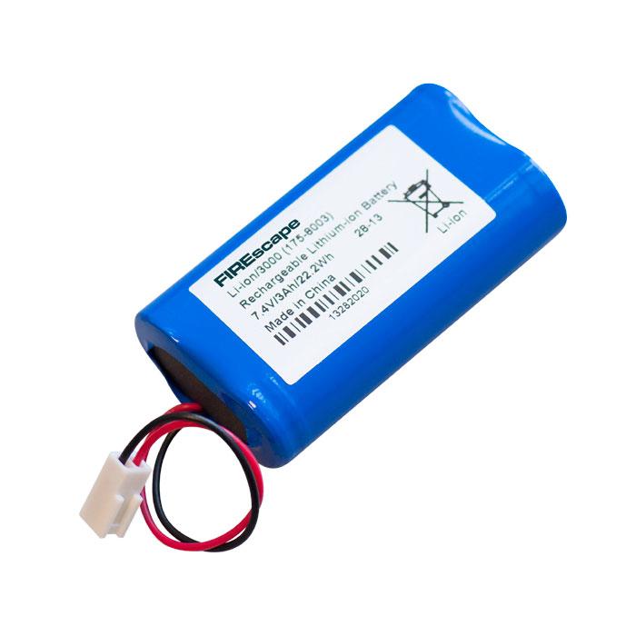 FOC-818 | Batería de respaldo de litio/polímero recargable y específica para usar con las luminarias de alta potencia FOC-776 (NFW89/C) y FOC-777 (NFW89/O).
