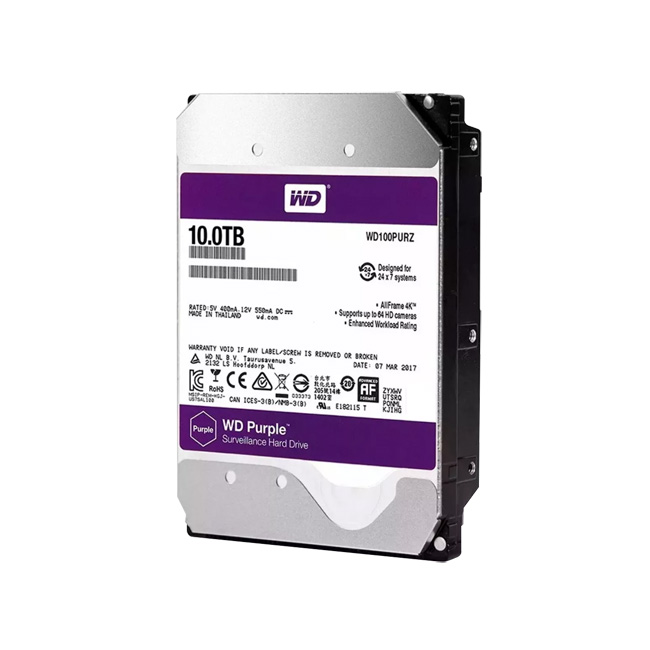HDD-10TB | Western Digital® Purple HDD