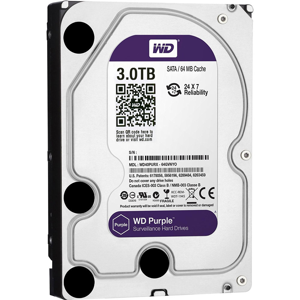HDD-3TB | Western Digital® Purple HDD