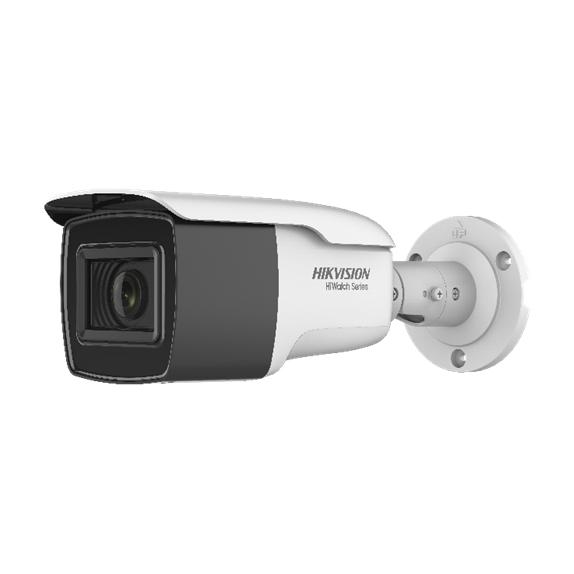 HIK-145   Cámara bullet 4 en 1 Serie HiWatch™ de HIKVISION® con iluminación Smart IR de 80 m para exterior