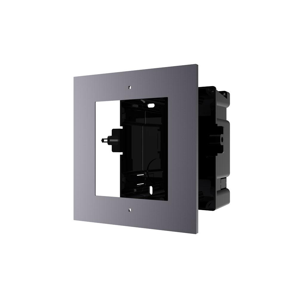 HIK-204 | Marco HIKVISION para instalar empotrado 1 módulo de sistema de videoportero.