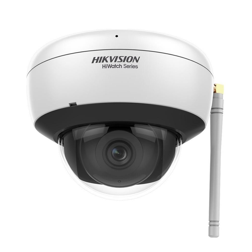 HIK-206 | Domo fijo IP WiFi Serie HiWatch™ de HIKVISION® de 2MP con iluminación infrarroja 30m, apto para exterior