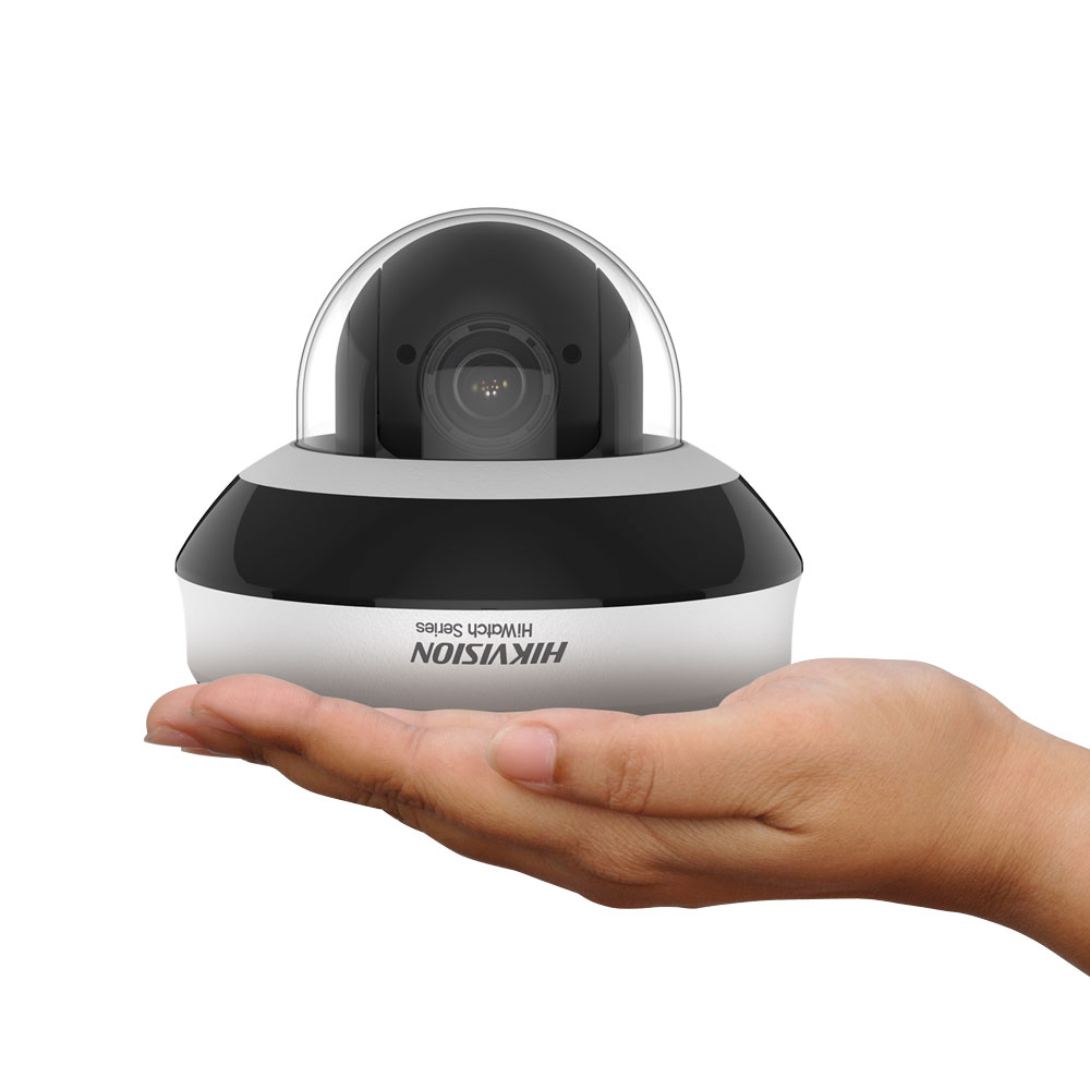 HIK-91 | IP motorized dome HIKVISION® HiWatch™ series of 100°/sec. with Smart IR 20m vandal protection for outdoors