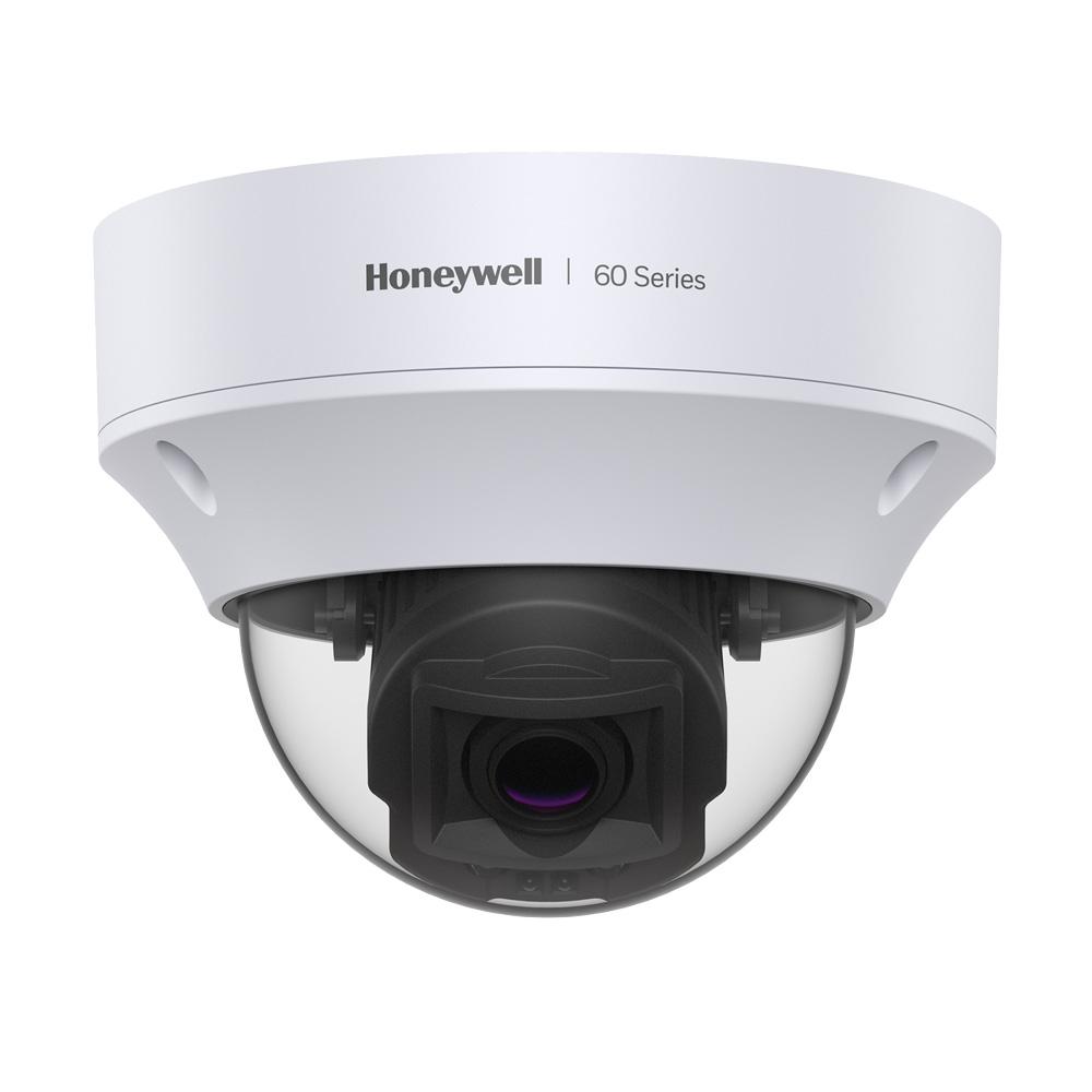 HONEYWELL-202 | Domo fijo IP de HONEYWELL de 5MP con Smart IR 30m, antivandálico apto para exterior