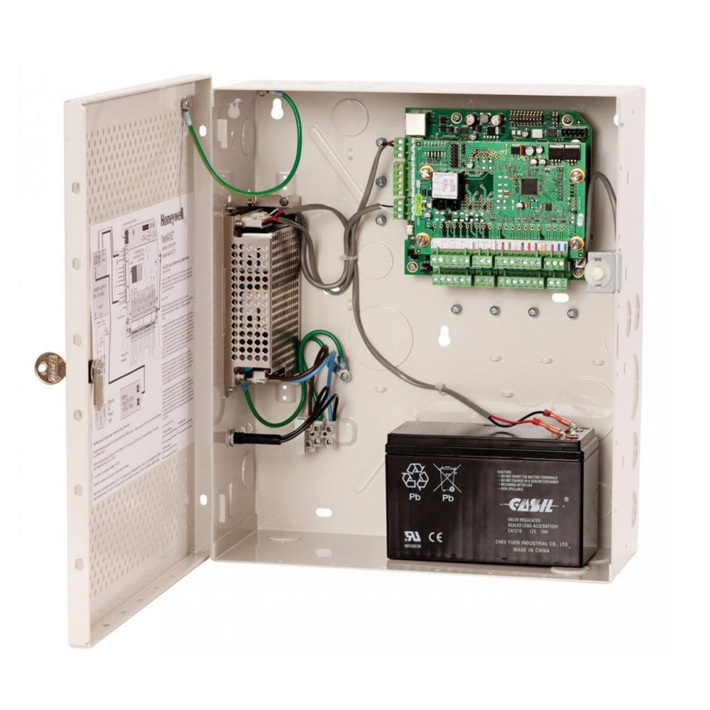 HONEYWELL-207 | Panel de Control de Accesos híbrido para tres puertas en caja metálica