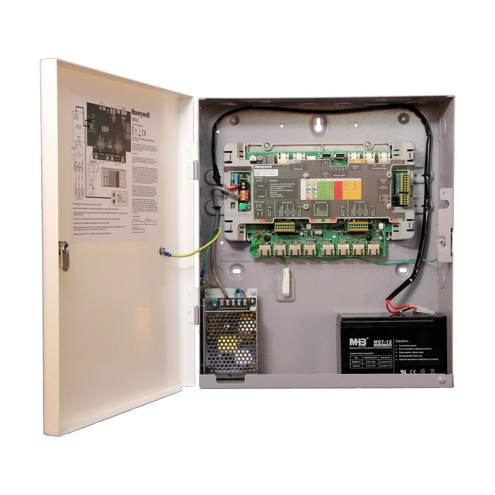 HONEYWELL-208 | Controlador IP para 2 a 4 puertas MPA2 compatible web, MaxProCloud y Winpak