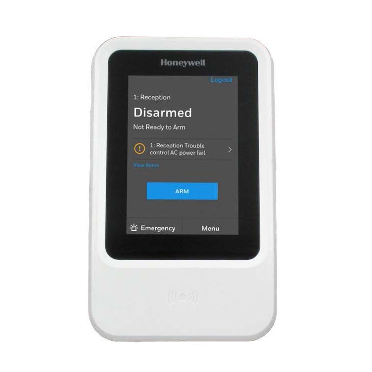 HONEYWELL-236 | Teclado táctil con lector de proximidad para sistema MAXPRO