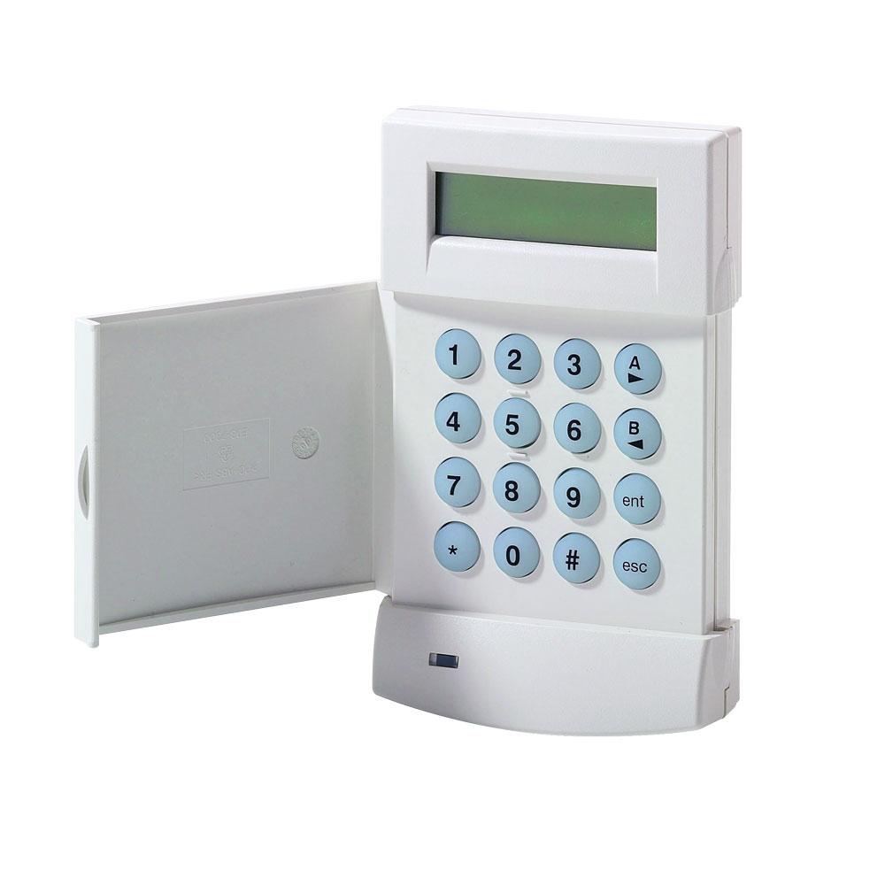 HONEYWELL-5 | Teclado LCD alfanumérico de 2 líneas de 16 caracteres