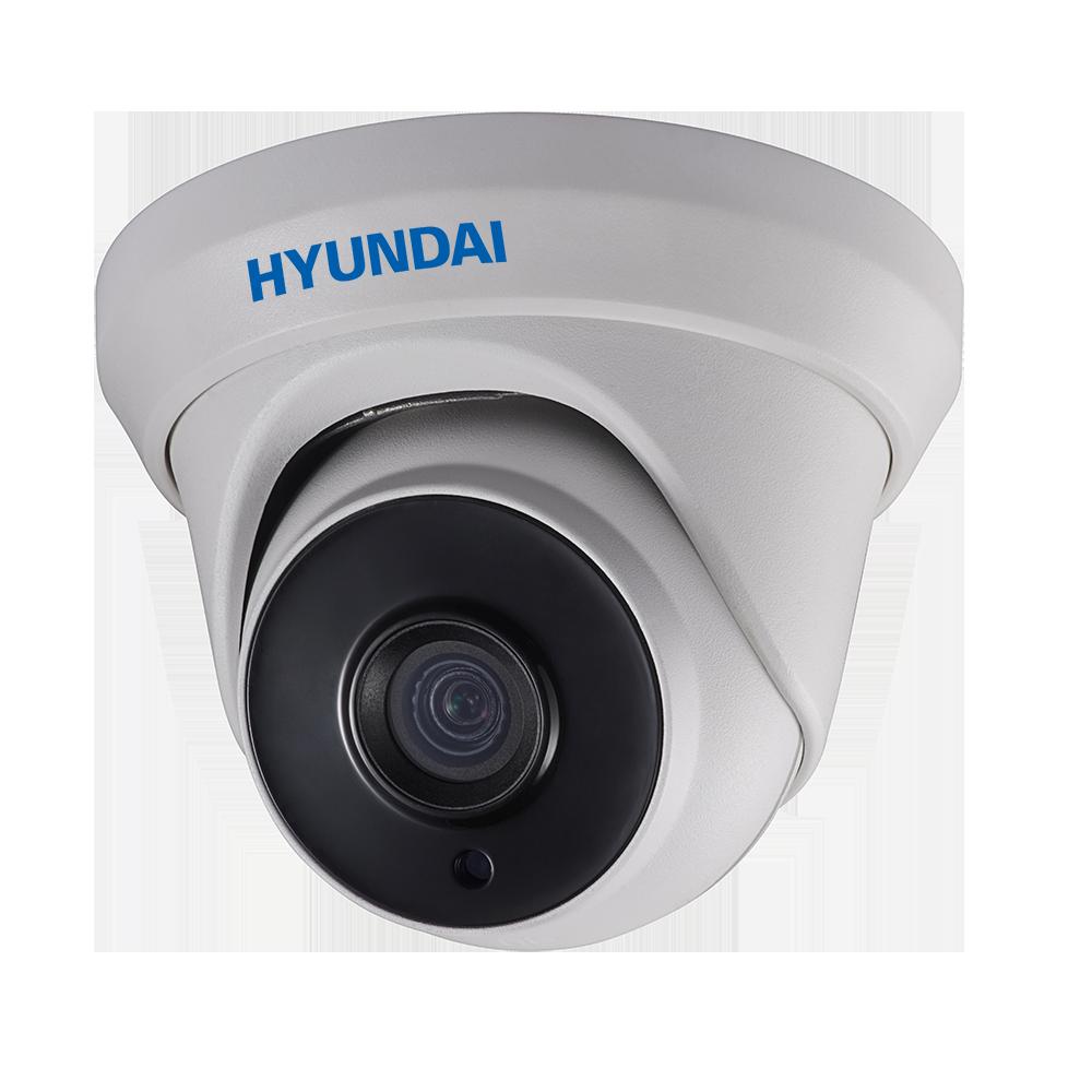 HYU-507 | Dôme fixe HDTVI série PRO avec éclairage Smart IR de 40 m d'extérieur