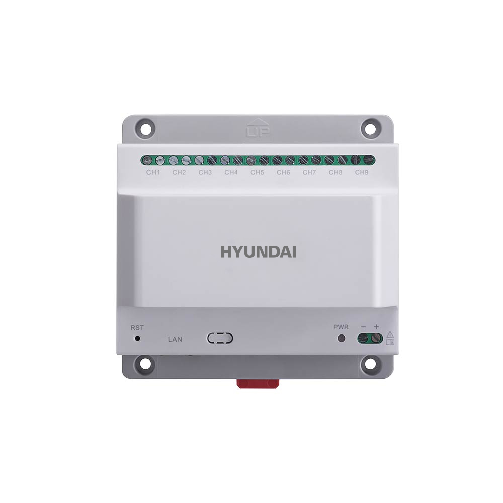 HYU-637 | Two-wire feeder with 9-channel interface