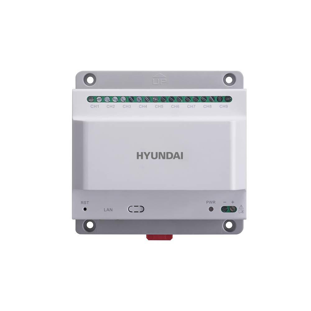 HYU-637 | Alimentador a dos hilos con interfaz de 9 canales