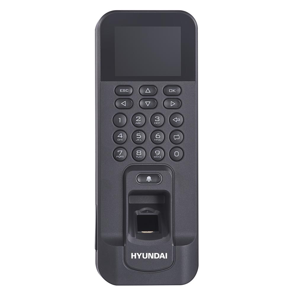 HYU-640 | Terminal autónomo de Control de Accesos con lectura biométrica de huella y lector de tarjetas EM