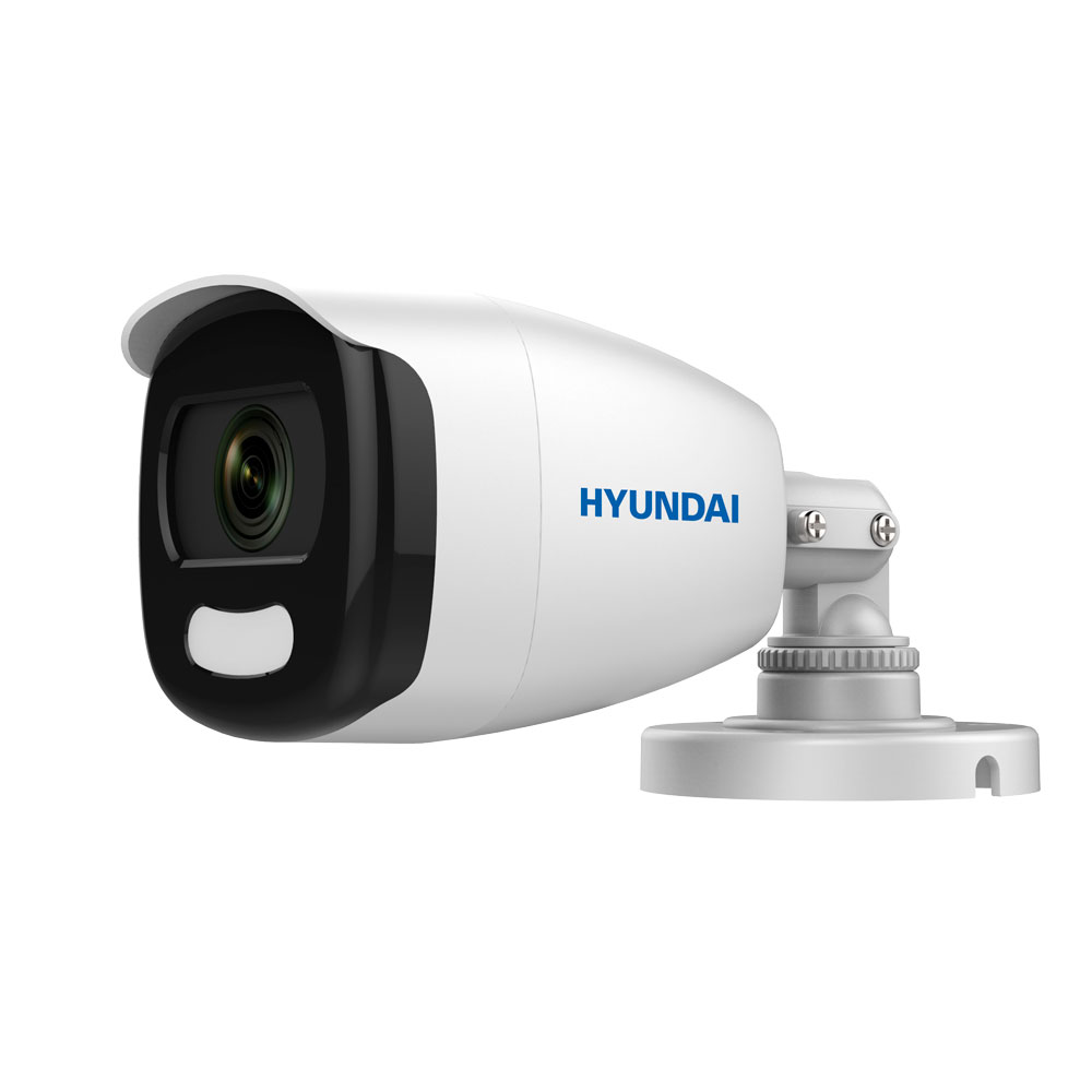 HYU-803 | Cámara bullet 4 en 1 serie Color View con iluminación blanca de 20 m para exterior