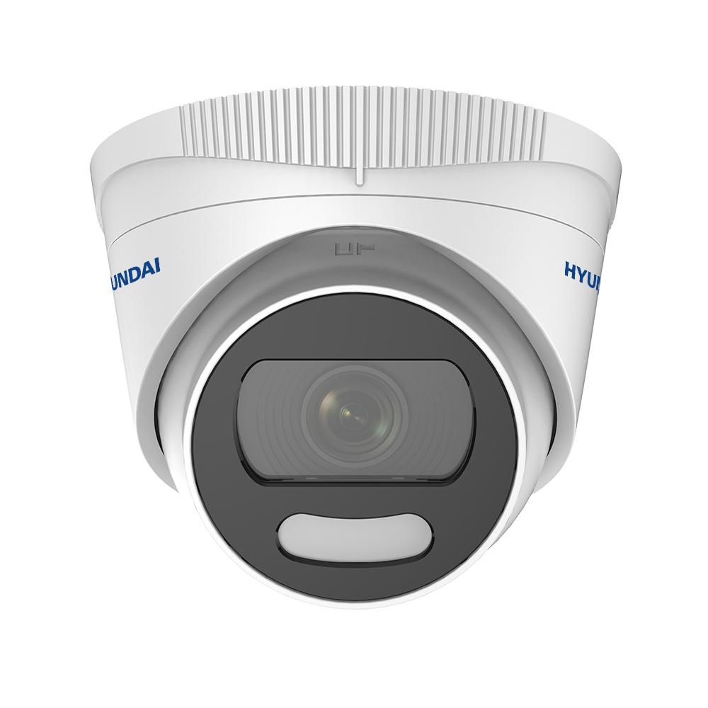 HYU-804 | Dôme fixe série 4 en 1 Color View avec éclairage blanc de 20 m pour l'extérieur