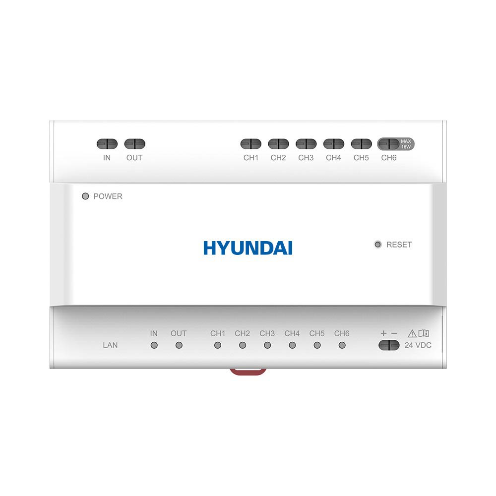 HYU-832 | HYUNDAI two-wire power supply with 6-channel interface