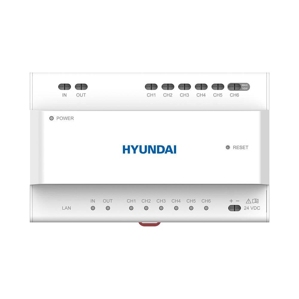 HYU-832 | Alimentatore a due fili HYUNDAI con interfaccia di 6 canali