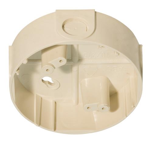 NOTIFIER-188 | Zócalo para tubo de hasta 22 mm, color marfil.