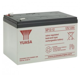 NOTIFIER-533 | 12V battery 12Ah capacity