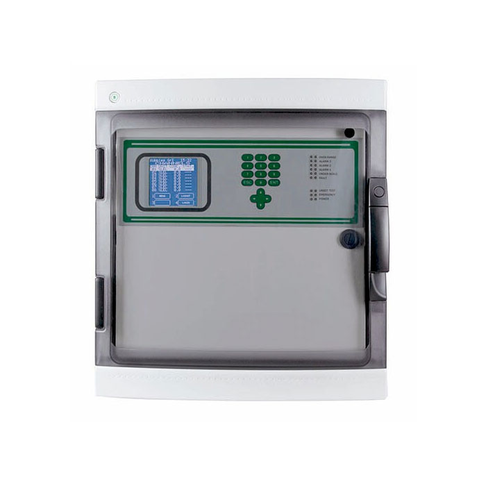 NOTIFIER-627 | Central de gas microprocesada MULTISCAN++ para 8 zonas ampliables hasta 32