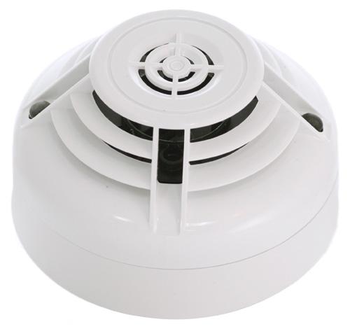 NOTIFIER-69 | Detector Termico De 58ºc Con Aislador Incorporado, Color Blanco.