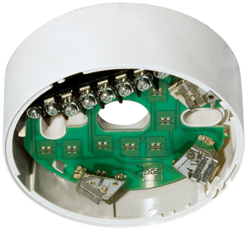 NOTIFIER-78 | Standard White Base With Heater For Nfx Detectors.
