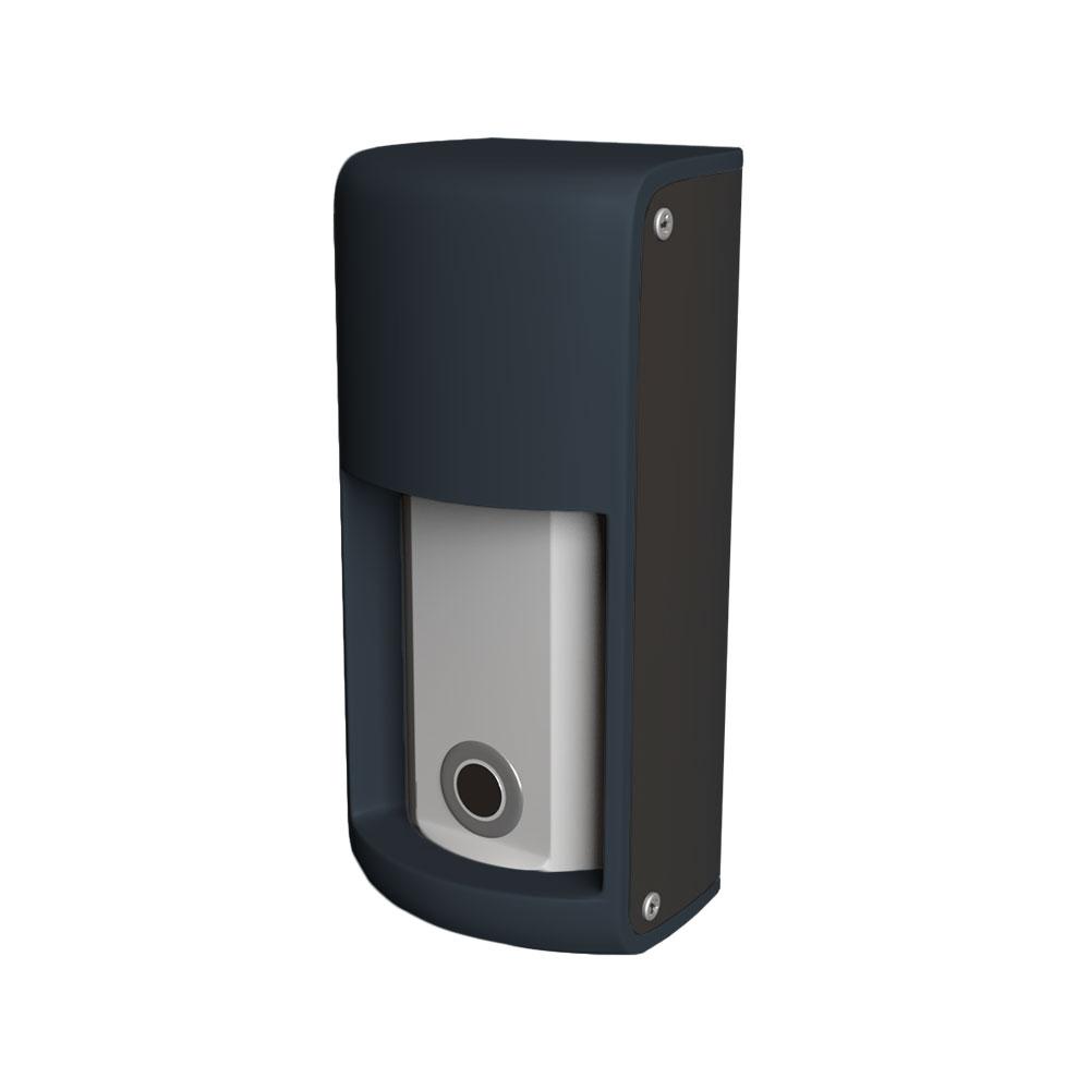 OPTEX-151 | Sensor de detección de vehículos de doble tecnología diseñado para ser utilizado en conjunto con una puerta automática, barrera o puerta industrial.