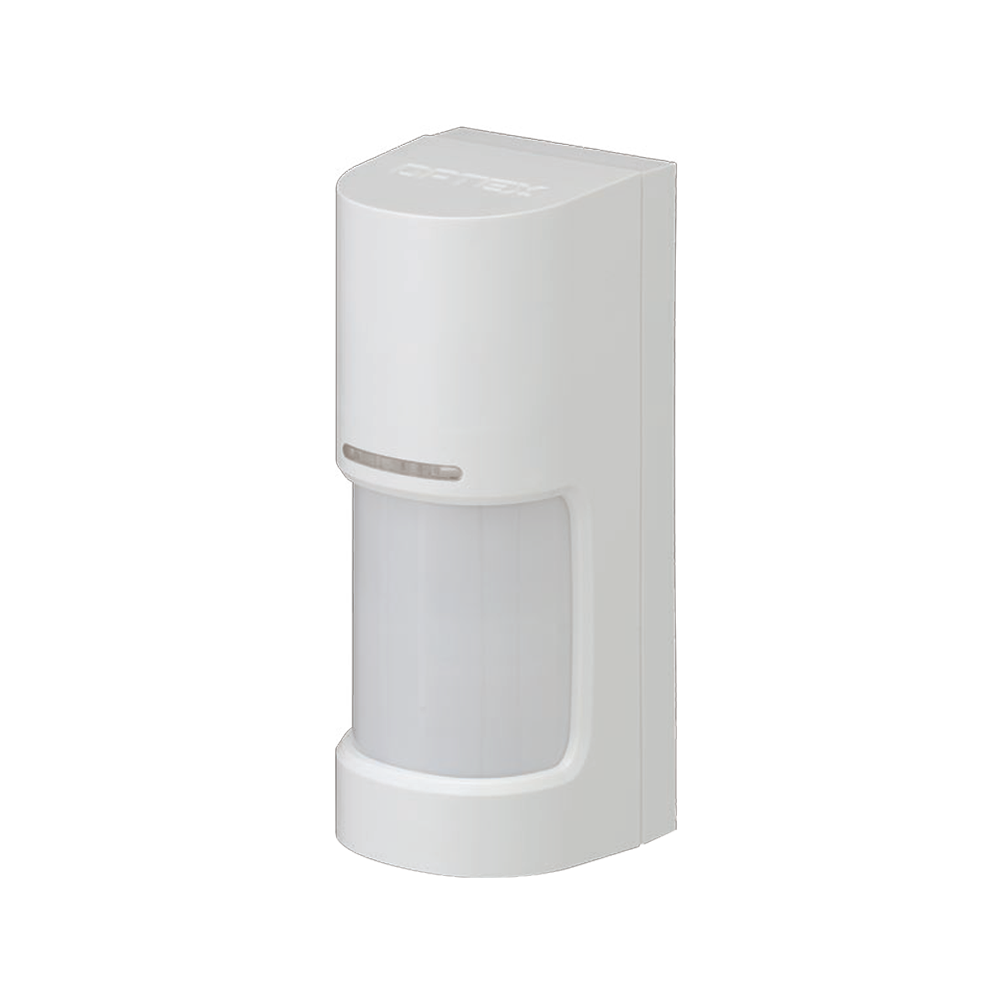 OPTEX-156 | Detector PIR panorámico 180° de la serie WX Infinity para exteriores con antimasking por LED activo